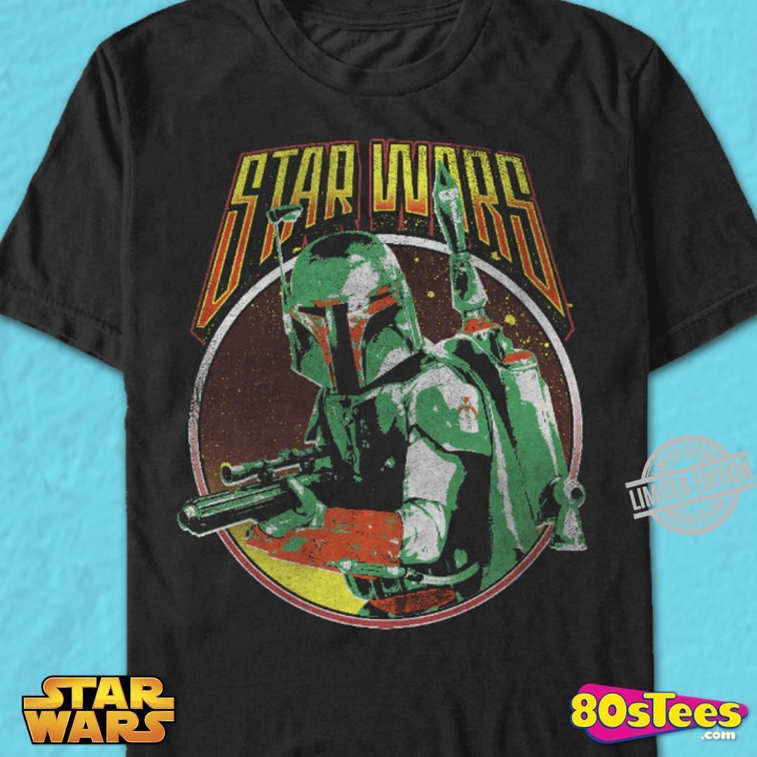 Boba Fett Star Wars Movie Shirt