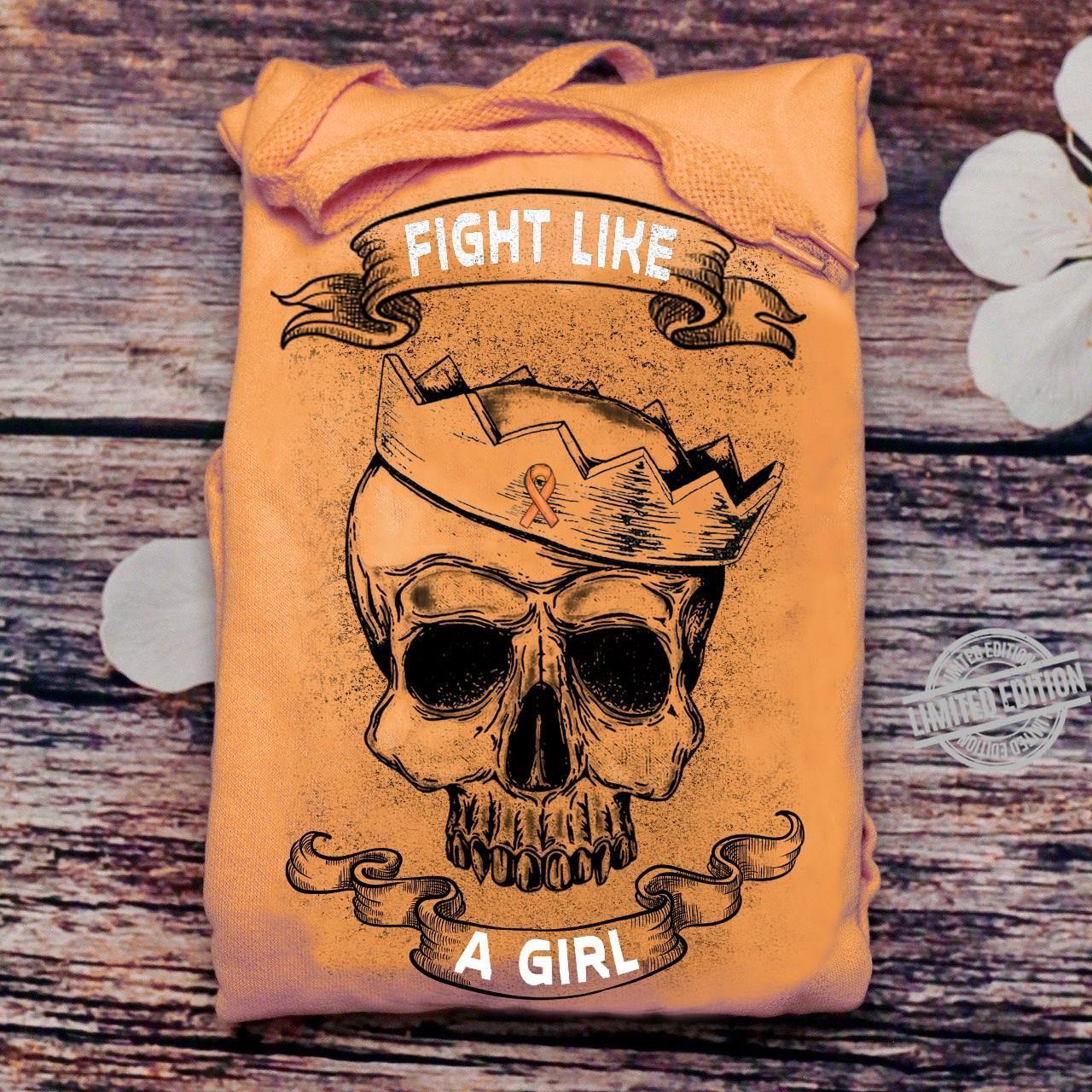 Fight Like A Girl Awareness Shirt