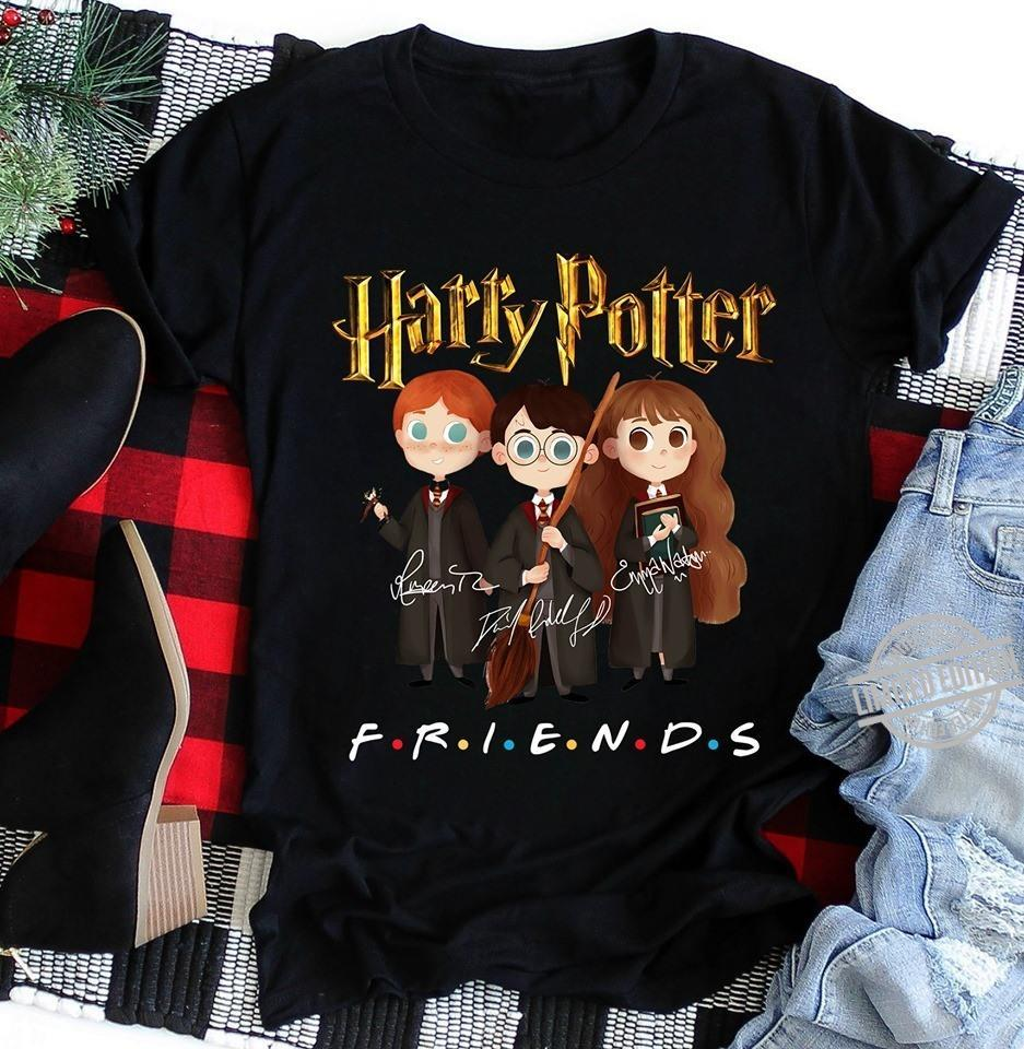 Harry Potter Signatures Friends Shirt